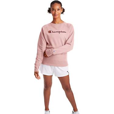Champion Women's Powerblend Boyfriend Crew Sweatshirt