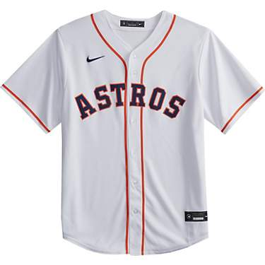 Nike Men's Houston Astros Blank Official Replica Home Jersey