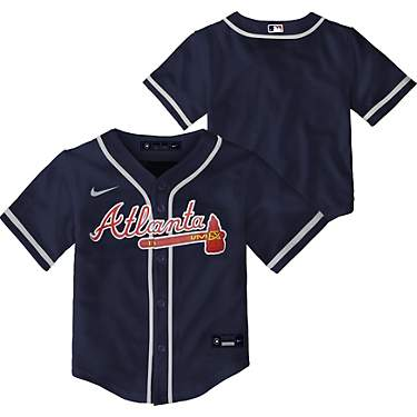 Nike Toddlers' Atlanta Braves Team Replica Finished Jersey