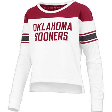 Three Square Women's University of Oklahoma Kaia Long-Sleeve T-shirt