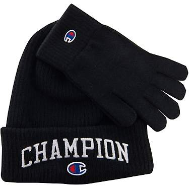 Champion Men's Capital Beanie and Gloves Set