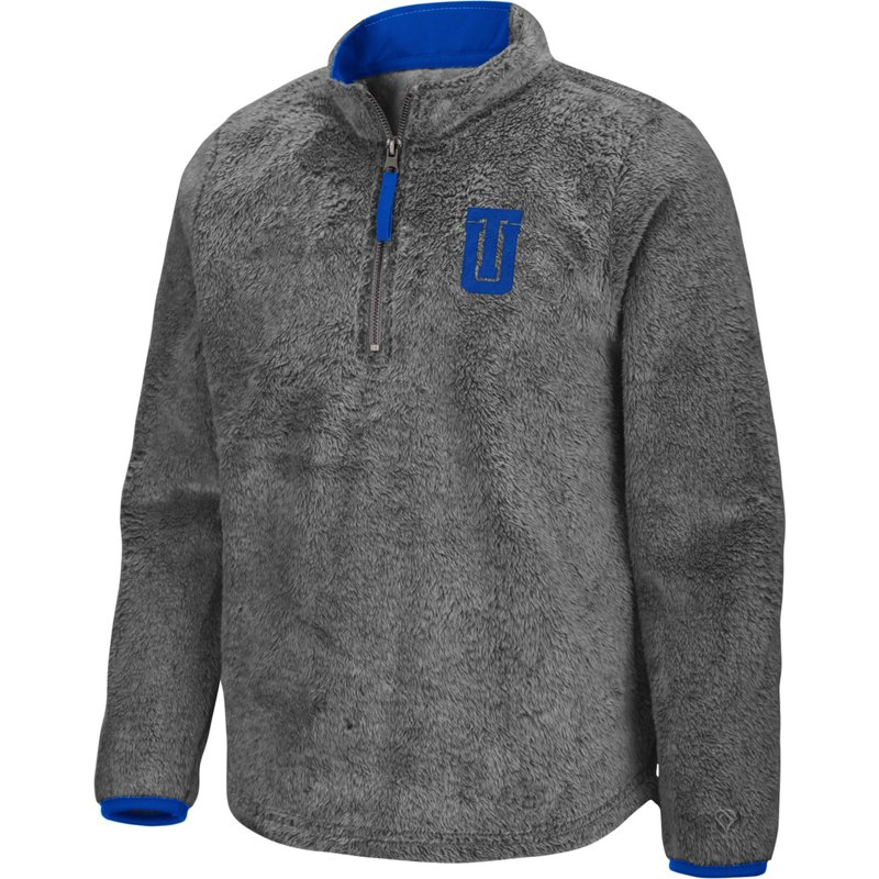 Colosseum Athletics Girls' University of Tulsa Puffer Fish 1/2 Zip Pullover Gray, Large – NCAA Men's Fleece/Jackets at Academy Sports