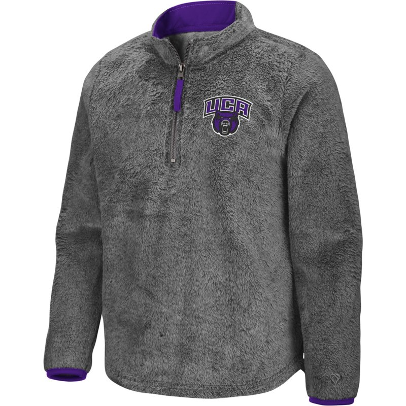 Colosseum Athletics Girls' University of Central Arkansas Puffer Fish 1/2 Zip Pullover Gray, X-Large – NCAA Men's Fleece/Jackets at Academy Sports