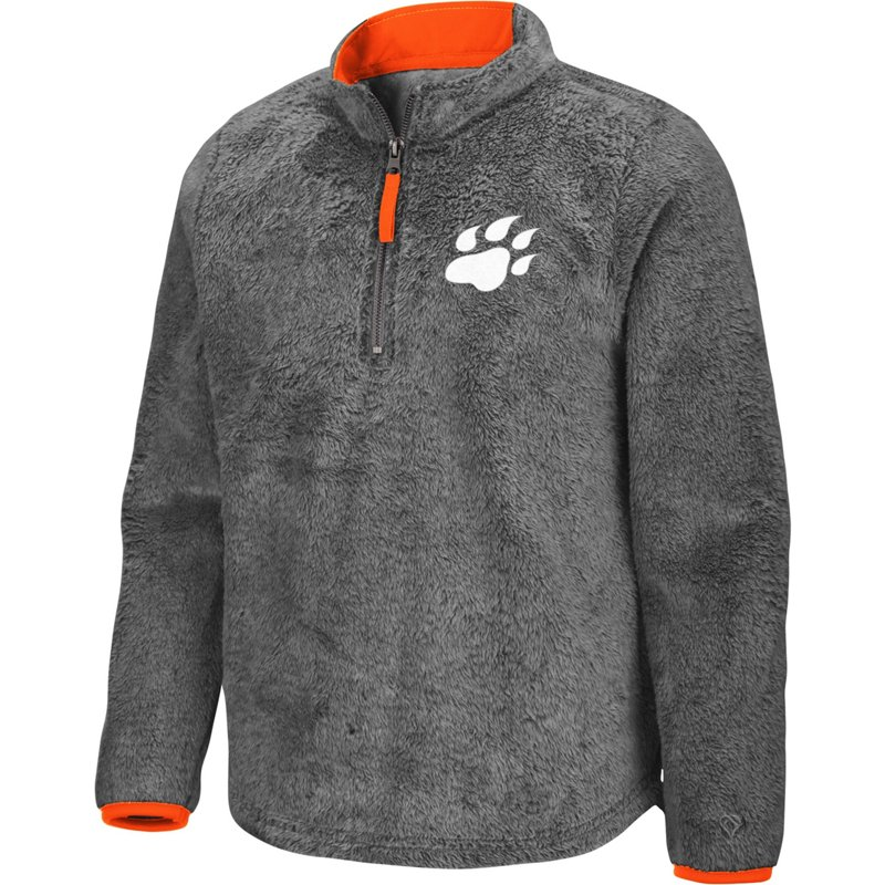 Colosseum Athletics Girls' Sam Houston State University Puffer Fish 1/2 Zip Pullover Gray, Large – NCAA Men's Fleece/Jackets at Academy Sports