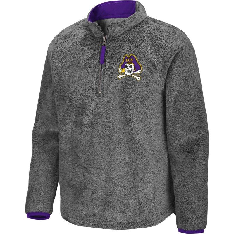 Colosseum Athletics Girls' East Carolina University Puffer Fish 1/2 Zip Pullover Gray, Medium – NCAA Men's Fleece/Jackets at Academy Sports