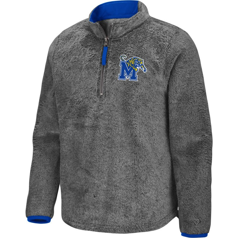 Colosseum Athletics Girls' University of Memphis Puffer Fish 1/2 Zip Pullover Gray, Medium – NCAA Men's Fleece/Jackets at Academy Sports