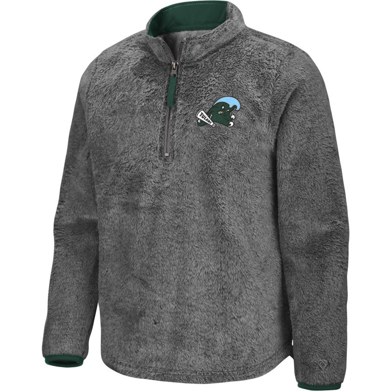 Colosseum Athletics Girls' Tulane University Puffer Fish 1/2 Zip Pullover Gray, Large – NCAA Men's Fleece/Jackets at Academy Sports