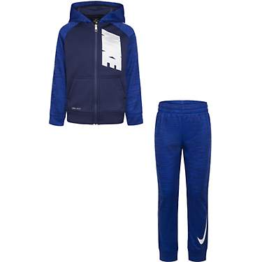 Nike Boys' Therma Full-Zip Hoodie and Joggers Set