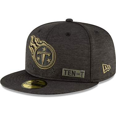 New Era Men's Tennessee Titans 59FIFTY Onfield 20 STS Ball Cap