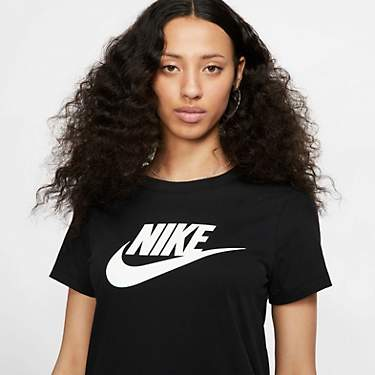Nike Women's Sportswear Essential Icon Futura Short Sleeve T-shirt