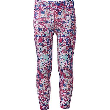 BCG Girls' Training Printed 7/8 Pocket Leggings