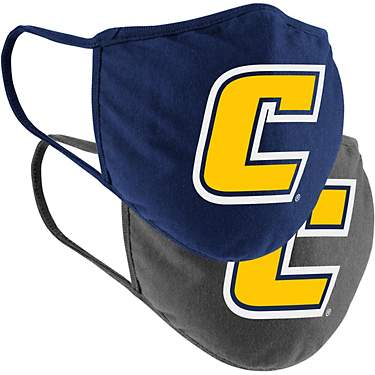 Colosseum Athletics University of Tennessee at Chattanooga Cotton Face Masks 2-Pack