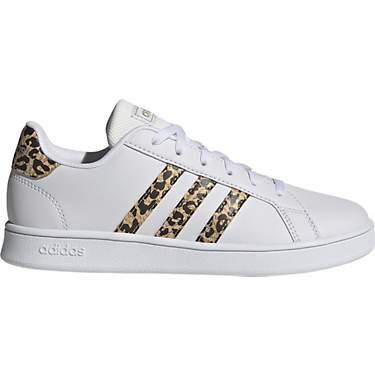 Adidas Girls' Grand Court Cheetah Shoes