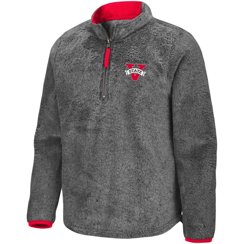 Colosseum Athletics Girls' Valdosta State University Puffer Fish 1/2 Zip Pullover Gray, Large – NCAA Men's Fleece/Jackets at Academy Sports