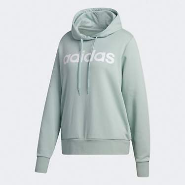 adidas Women's Essentials Linear Fleece Plus Size Hoodie