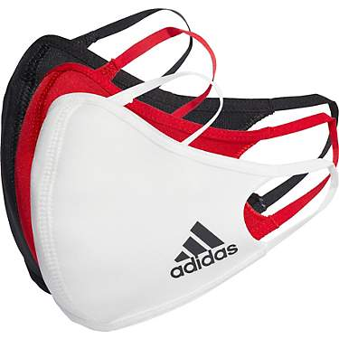 Adidas Multi Color Face Mask 3-Pack