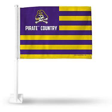 Rico East Carolina University Country Car Flag