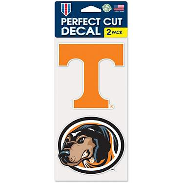 WinCraft University of Tennessee Perfect Cut Decals 2-Pack