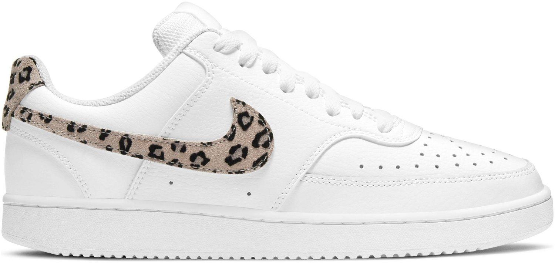 Nike Women's Leopard Court Vision Low Shoes