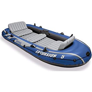 INTEX Excursion 5-Seat Inflatable Boat