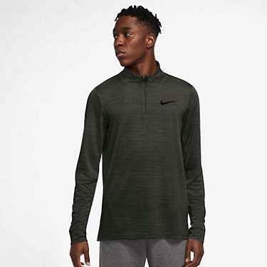 Nike Men's Dri-FIT SuperSet 1/4-Zip Long Sleeve Training Top