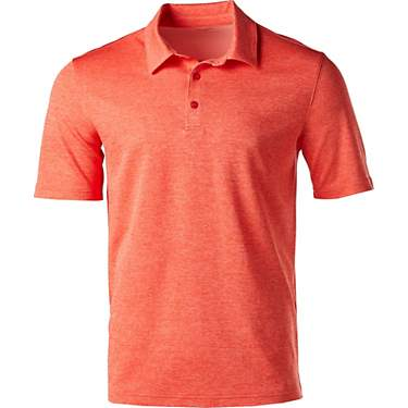 BCG Men's Melange Golf Polo T-shirt