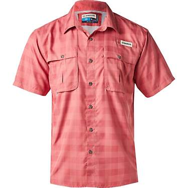 Magellan Outdoors Men's Aransas Pass Heather Plaid Fishing Shirt