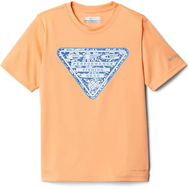 Columbia Sportswear Boys' PFG Printed Logo Graphic T-shirt