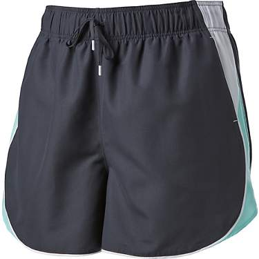 BCG Women's Plus Size Woven Donna Shorts