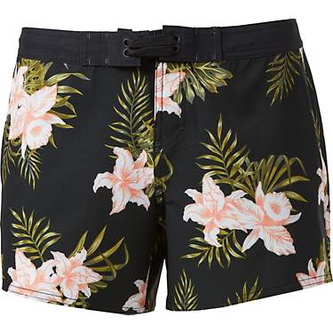 O'Rageous Juniors' Floral Print True Board Shorts