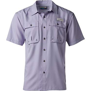 Magellan Outdoors Men's Aransas Pass Mini Check Short Sleeve Shirt