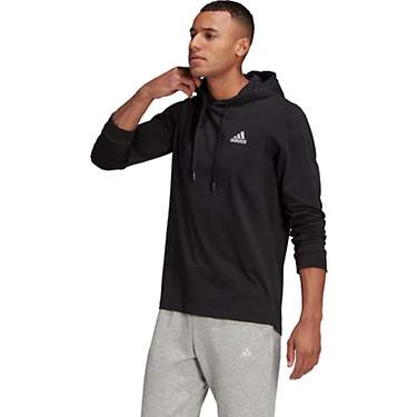 Adidas Men's Essentials Small Logo Pullover Hoodie