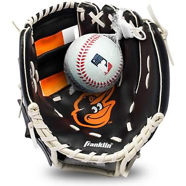 Franklin Youth MLB Baltimore Orioles T-ball Glove and Ball Set