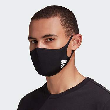 adidas Solid Face Mask 3-Pack