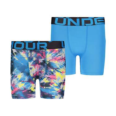 Under Armour Boys' Tie-Dye Boxers Set 2-Pack