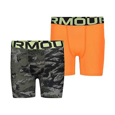 Under Armour Boys' ABC Camo Boxers Set 2-Pack