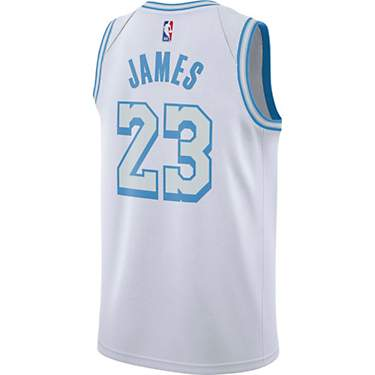 Nike Men's Los Angeles Lakers Lebron James 2020 City Edition Swingman Jersey