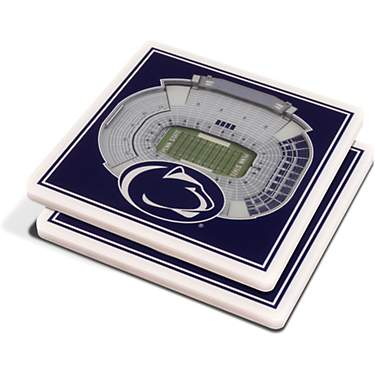 YouTheFan Penn State 3-D Stadium Views Coasters