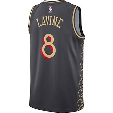 Nike Men's Chicago Bulls Zach LaVine 20 City Edition Swingman Jersey