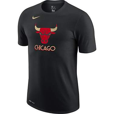 Nike Men's Chicago Bulls City Edition Logo T-shirt