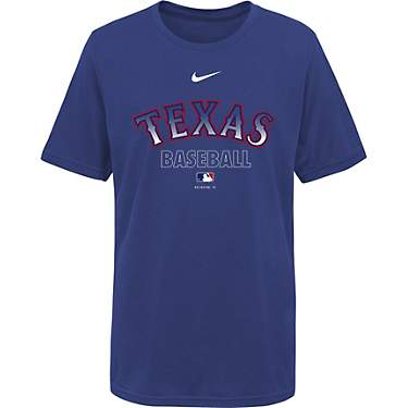 Nike Boys' Texas Rangers Legend Practice T-shirt