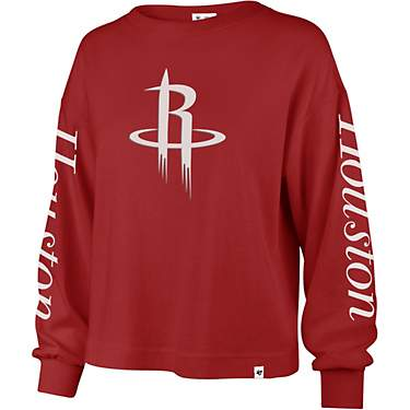 '47 Houston Rockets Sweet Victory Marlow Bell Long Sleeve T-shirt