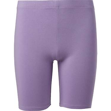 BCG Girls' Solid Bike Shorts 7 in
