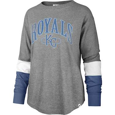 '47 Kansas City Royals Women's Status Brookdale Long Sleeve T-shirt