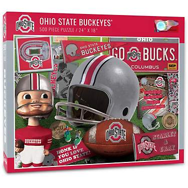 YouTheFan Ohio State University Retro Series 500-Piece Puzzle