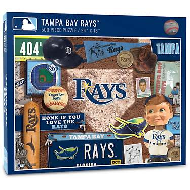 YouTheFan Tampa Bay Rays Retro Series 500-Piece Jigsaw Puzzle