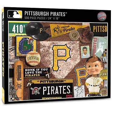 YouTheFan Pittsburgh Pirates Retro Series 500-Piece Jigsaw Puzzle