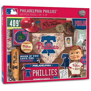YouTheFan Philadelphia Phillies Retro Series 500-Piece Jigsaw Puzzle