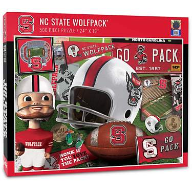 YouTheFan North Carolina State University Retro Series 500-Piece Puzzle