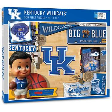 YouTheFan University of Kentucky Retro Series 500-Piece Puzzle